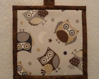 Owl Pot Holder, Owl Hot Pad