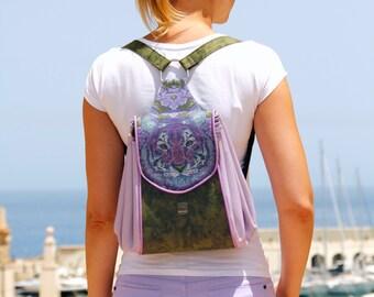 Batala Backpack - Full Circle Handbag Replacement Backpack - PDF Sewing Pattern