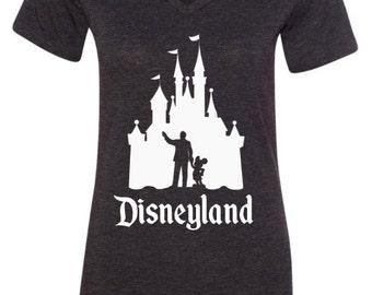 Disney Shirts Walt and Mickey Castle Shirt Partners Shirt Disneyland Shirt Disney World Shirt womens shirt Magic Kingdom Shirt
