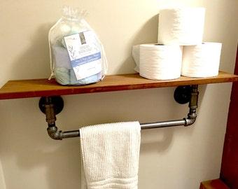Pipe Towel Holder