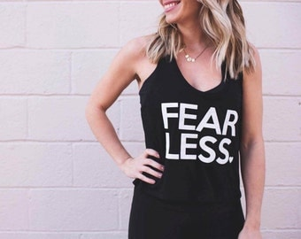 Fearless Crop Top Tank | the perfect flowy tank for every day or working out