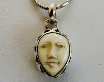silver  pendant handmade jewelry