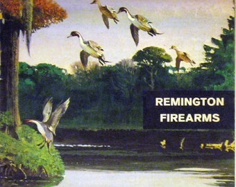 Remington Firearms Advertising Magazine