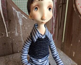 SALE O.O.A.K. Art doll Moppiedoll Jessica de Geus Cor