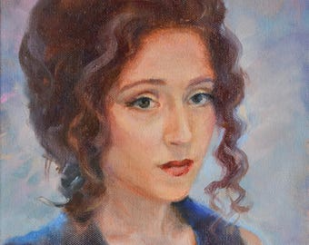 Portrait, Custom portrait, Wedding Portrait, Portrait gift, Oil portrait, Personalized portrait, Portrait from photo, Oil Painting