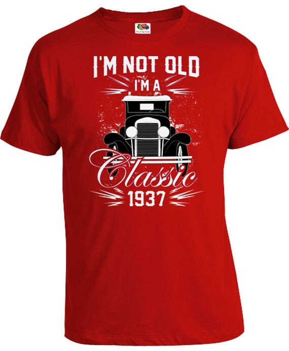 Unique Birthday Presents For Men: 80th Birthday Gift Ideas For Men Personalized T Shirt Custom
