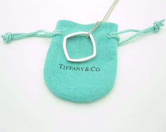 Unique Tiffany & Co. Frank Gehry Sterling Silver Torque Pendant Necklace