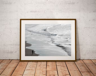 "California photography, San Francisco, Ocean Beach, California Runnin',  20 cm x 30 cm, 8"" x 12"""
