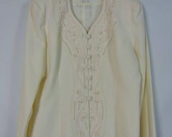 Vintage Ivory Jacket