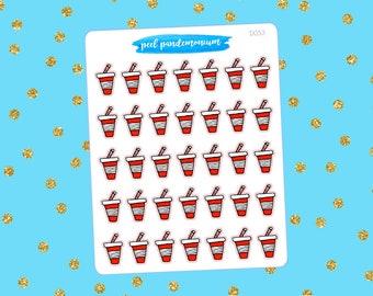 Soda Doodle Planner Stickers (D053)