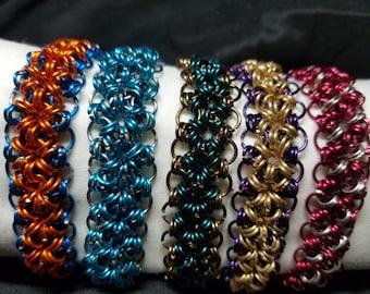 Custom Chainmail Bracelet
