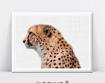 Cheetah Print Safari Animal Print Nursery Decor Boys Room Wall Art Printable