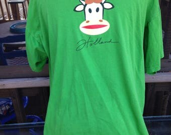 HOLLAND T-Shirt with smiling cow - small- small
