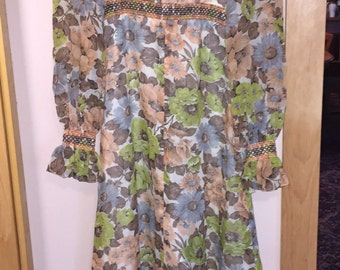 Vintage dress 60s or 70s, mint condition, groovy