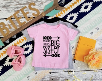 Big Sister T-Shirt  / Pregnancy Announcement /  Big Sister Shirt