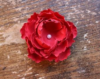 Wild Rose Wedding Cake Toppers. Flower Cake Topper. Wild Flower Wedding Cake. Sugar Roses. Wedding Cake Flower Decoration. Red Rose Topper.