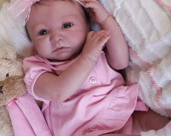 "Reborn Baby Girl ""Aubrey"" by Believable Babies for People with Dementia and Alzheimer's- Doll Therapy for Memory Care"
