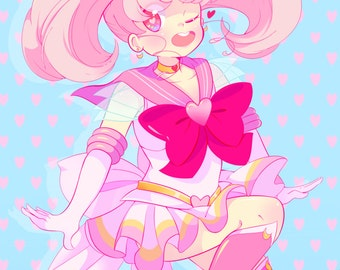 Sailor Chibi Moon 11x17 print