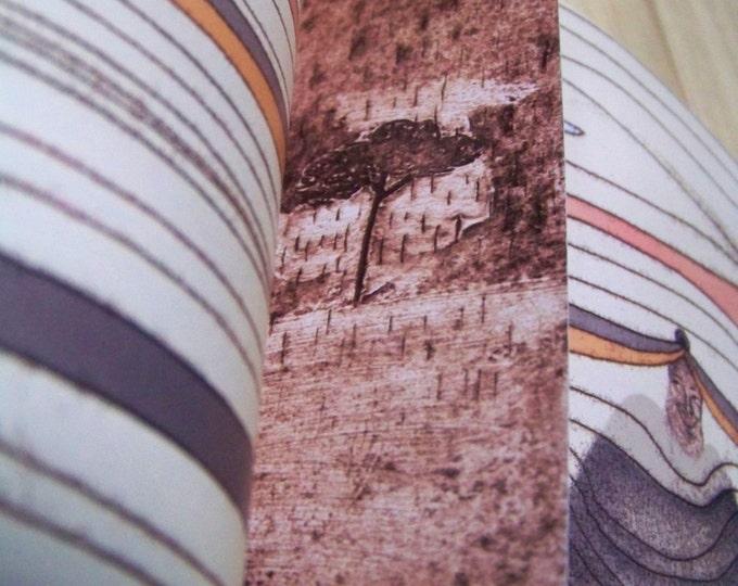 Illustrated bookmark - Skyfall