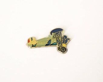 Vintage enamel pin / BOEING F4B-1