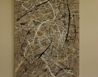 Large Original Abstract Acrylic Painting