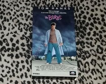 The Burbs [VHS] 80s Movie Cult Classic Horror Comedy Vhs Tape Retro Corey Feldman Tom Hanks Carrie Fisher Bruce Dern Rick Ducommun Suburbia