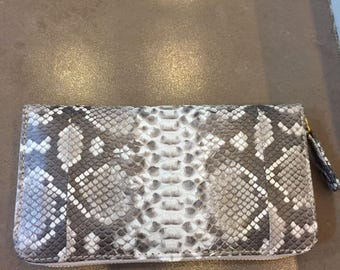 Leather Wallet, Zip Around Wallet, Python Wallet, Snakeskin Wallet, Gray Leather Wallet, Zip Wallet, Evening Bag, Red Leather Wallet,