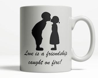 Relationship Mug | #relationshipgoals | Cute Romantic Mug | Gift for Lover | Valentines Day Gift | Coffee Cup 11oz 15oz Ceramic Mug  706