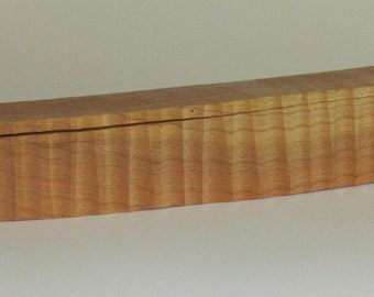 Handcrafted Cherry Wood Box, Trinket Box, Keepsake Box, Wedding Gift, Bride Gift, Groom Gift