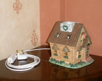 Log Cabin Night Light