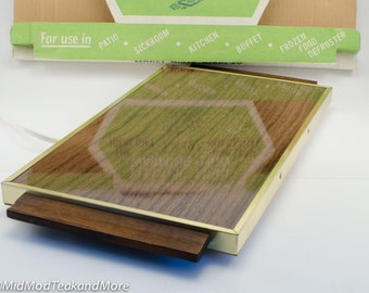 Electric Food Warming Tray by Jasco
