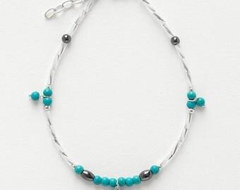 Ankle Bracelet Turquoise
