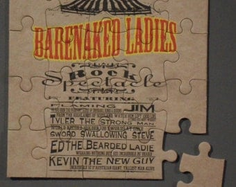 Barenaked Ladies CD cover Magnetic Puzzle