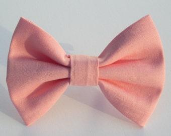 Bubblegum Pink Bow Tie- All Sizes