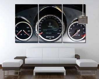 Dashboard Wall Art  Mercedes Canvas AMG Wall Decor AMG Wall Art  Mercedes Poster Mercedes Wall Decor Mercedes Wall Decor Top Gear