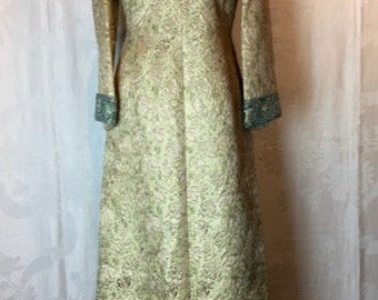 149. MA CHERIE- Brocade Evening Gown