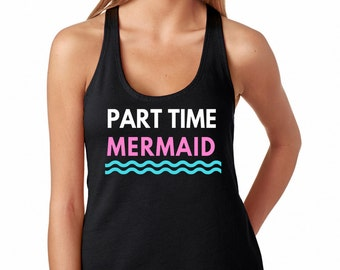 Mermaid shirt woman, mermaid top adult, mermaid tank top, mermaid mom shirt, mermaid mama, mermaid shirt adult, mermaid mama shirt,