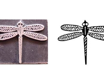 dragonfly stamp,inspired printing stamp