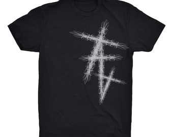 Three Cross black Tee