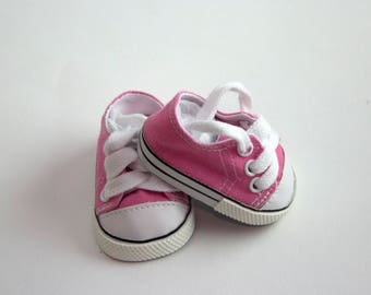 Pink doll tennis shoes fit's all 18 inch dolls  including  American Girl