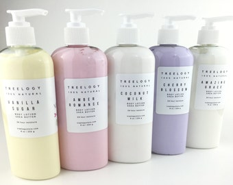 Body Lotion, Natural Lotion, Natural Body Lotion, Shea Butter,