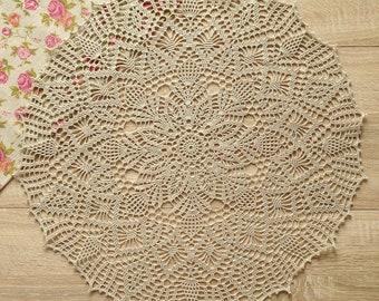 Doily Crochet doily color linen doily Lace doily Crochet table topper