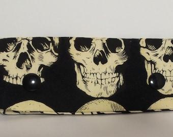 """4"""" DPN Needle holder/ Needle holder; Skull and Fingerprints print"""