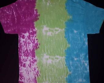 Custom Adult Tie Dye Short Sleeve T Shirt Shibori Style