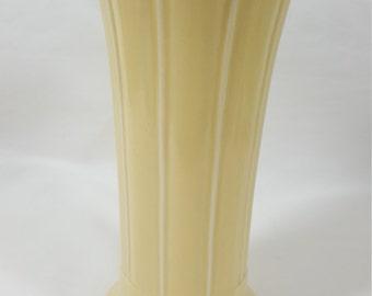 """Vintage Fiesta 8"""" Ivory Vase"""