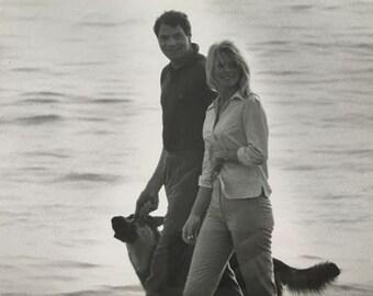 Original photo: Dalmas agency - Brigitte Bardot & Christian Marquand - 1965
