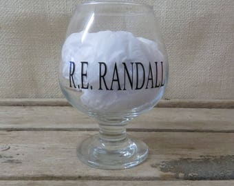 Brandy Snifter, Personalized Brandy Glass, Monogram Brandy Glass, Christmas Gift, Birthday Gift, Gift for Him, Fathers Day Gift,