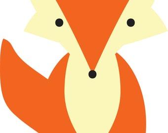 Baby Girl Fox Graphic