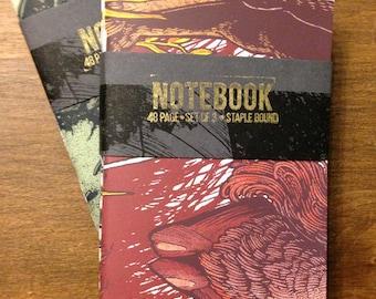 Mini Notebook - Pack of Three
