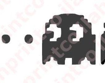 PacMan, 8-bit, pixel Decal